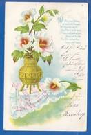 Blumen; Fleurs; 1904 Stempel Vollmerhausen Und Niedersessmar - Fiori
