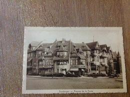 Duinbergen  Avenue De La Poste - Cartes Postales