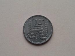 1948 B - 10 Francs ( KM 909.2 ) Uncleaned ! - France