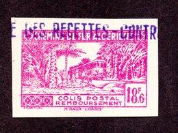 Algérie Colis Postal N°157 ND N** LUXE Cote 25 Euros  !!! - Algérie (1924-1962)