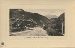 CLUSES  L'Arve - Entrée De La Gorge - Cluses