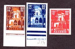 Algérie  N°313B,314,340A ND N** LUXE Cote 23 Euros  !!! - Algérie (1924-1962)