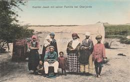 Namibia  DSW  Kapitan Jsaak Mit Seiner Familie Bei OKANJANDE  Nm59 - Namibie