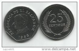 El Salvador 25 Centavos 1988. High Grade - Salvador