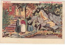 Tieghem, Tiegem, La Fontaine Miraculeuse (19169) - Anzegem