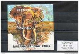 Tanzanie. Bloc Feuillet. Elephant - Tanzanie (1964-...)