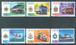 HONG KONG -  MNH/**- 2006 - PUBLIC TRANSPORT - Yv 1287-1292 -  Lot 18283 - 1997-... Région Administrative Chinoise