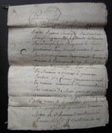 1764 Généralité De La Rochelle, Genouillé Jean Guillaud Et Geneviève Joubert  à Laurent Benoist , 12 Pages - Manuscrits