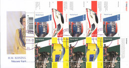 DC-1524 - FDC NEDERLAND 2005 - TREIN SPOORWEGEN NS TRAINS RAILWAYS - COMPLET VEL-  STEMPEL UTRECHT - FDC
