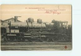 Cie EST - Machine 3584 à 3640 Pour Trains De Voyageurs  - Les Locomotives  , Ed. Fleury - 2 Scans - Matériel