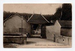 - CPA CLAIRVAUX (10) - Maison Centrale - La Première Porte - Photo R. Rale - - Frankrijk