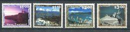 240 NOUVELLE ZELANDE 2000 - Yvert 1749/52 - Paysage - Neuf ** (MNH) Sans Trace De Charniere - Nuova Zelanda