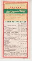 Beau Buvard Antigrippine - Tarif Postal   1950 - Buvards, Protège-cahiers Illustrés