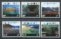 240 NOUVELLE ZELANDE 2001 - Yvert 1852/57 - Tourisme Paysage - Neuf ** (MNH) Sans Trace De Charniere - Nuova Zelanda