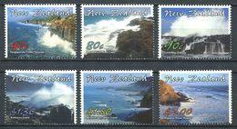 240 NOUVELLE ZELANDE 2002 - Yvert 1925/30 - Paysage Cotier - Neuf ** (MNH) Sans Trace De Charniere - Nuova Zelanda