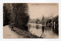 - CPA BAR-SUR-SEINE (10) - Promenade Du Croc Ferrand - Edition Saunois - - Bar-sur-Seine