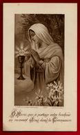 Image Pieuse Holy Card Communion Huguette Baudry 19-06-1930 - Ed Bonamy 1204 La Madeleine - Images Religieuses