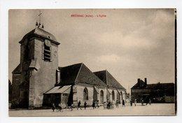 - CPA ESTISSAC (10) - L'Eglise (avec Personnages) - - Frankrijk