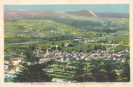 CPA - Bas En Basset - Vue Panoramique Prise De Rochebaron - Frankreich
