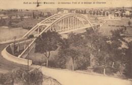CPA - Bas En Basset - Le Nouveau Pont Et Le Village De Gourdon - Frankreich