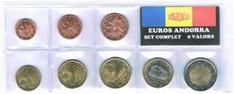 EUROS ANDORRE SET 8V. - Andorra