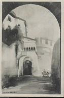 CASTELLO DI ROVERETO - ACQUARELLO - MUSEO STORICO DI GUERRA - FORMATO PICCOLO - VIAGGIATA 06.09.1922 - Castillos