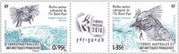 2018 FSAT TAAF Gorfou Sauteur - Stamps GORFOU Subtropica St Paul - Birds Aves Penguin 2v Mnh - Terres Australes Et Antarctiques Françaises (TAAF)
