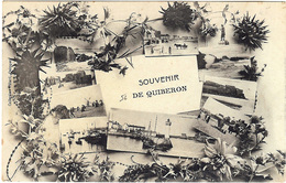 56 Morbihan Quiberon Souvenir Multivues - Quiberon
