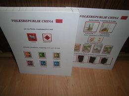 Sammlung China VR Volksrepublik 2002-2004 Postfrisch Fast Komplett +++ (52067) - Ongebruikt