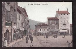 Le CHEYLARD La Rue Dupré Très Animée, Carte N° 3 De MLE VALLETON : RARISSIME !!!!!!!!!!!!!!!!!!!!!!!! - Le Cheylard