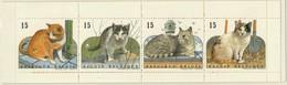 PIA  - BELGIO  -  1993  : Fauna - Gatti Europei  Emessi In Carnet -    (YV  C2521) - België