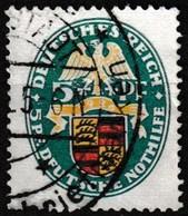 T.-P. Oblitéré Millésime 1926 - Armoiries Württemberg Deutsche Nothilfe Deutsches Reich - N° 398 (Yvert) - Empire 1926 - Oblitérés