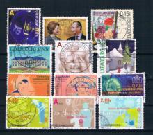 Luxemburg 2003 Kleines Lot Gestempelt - Luxemburg