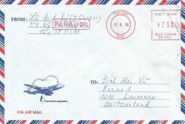 """Vietnam 1995 Tan Dinh Meter Frama """"EPS3000"""" SM0894 EMA Cover - Vietnam"""