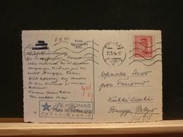 80/857  CP  POUR LA BELG.  1946 - Tchécoslovaquie