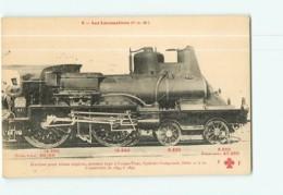 Cie P.L.M. - Machines 21 à 60 Pour Trains Express - Les Locomotives  , Ed. Fleury - 2 Scans - Equipment