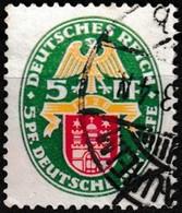 T.-P. Oblitéré Millésime 1928 - Armoiries Hambourg Deutsche Nothilfe Deutsches Reich - N° 416 (Yvert) - Empire 1928 - Oblitérés