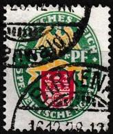 T.-P. Oblitéré Millésime 1928 - Armoiries Hambourg Deutsche Nothilfe Deutsches Reich - N° 416 (Yvert) - Empire 1928 - Deutschland