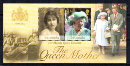 Bermuda - 2002 - Queen Mother Commemoration Miniature Sheet - MNH - Bermudes