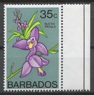 Barbados 1974-79 Mi# 375X** DEFINITIVE, FLOWERS - Barbades (1966-...)