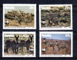 Namibia - 1991 - Endangered Species/Mountain Zebra - MNH - Namibie (1990- ...)