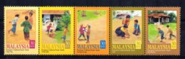 Malaysia - 2000 - Children's Traditional Games (1st Series) - MNH - Malaysia (1964-...)