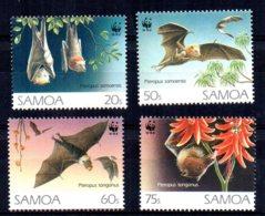 Samoa - 1993 - Endangered Species/Flying Foxes - MNH - Samoa
