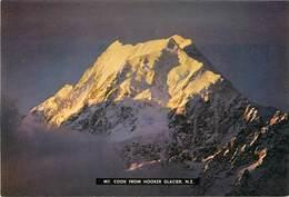 CPSM Nouvelle Zélande-Mt.Cook From Hooker Glacier                                L2722 - Nouvelle-Zélande