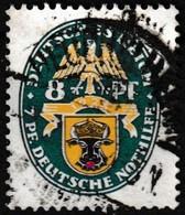 T.-P. Oblitéré Millésime 1928 - Armoiries Schwerin Deutsche Nothilfe Deutsches Reich - N° 417 (Yvert) - Empire 1928 - Oblitérés