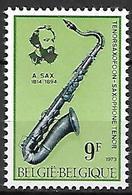 BELGIQUE     -  1973  .  Y&T N° 1676 * .  Adolphe Sax  /  Musique  /  Saxophone. - Belgium