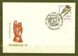 POLSKA, 15/09/1985 Zielonej Gory Winobranie - Zielona Gora  (GA3307) - Wines & Alcohols