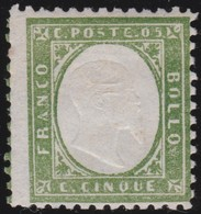 Sardinia       .  Yvert    .     10      .    *   .   Mint-hinged   .    /   .   Neuf Avec Charniere - Sardegna