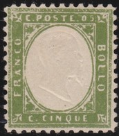 Sardinia     .  Yvert    .     10   .    *   .   Mint-hinged   .    /   .   Neuf Avec Charniere - Sardaigne