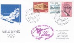 Switzerland 2002 Salt Lake City Olympic Winter Games - National Team Flying To Games (DD24-23) - Winter 2002: Salt Lake City